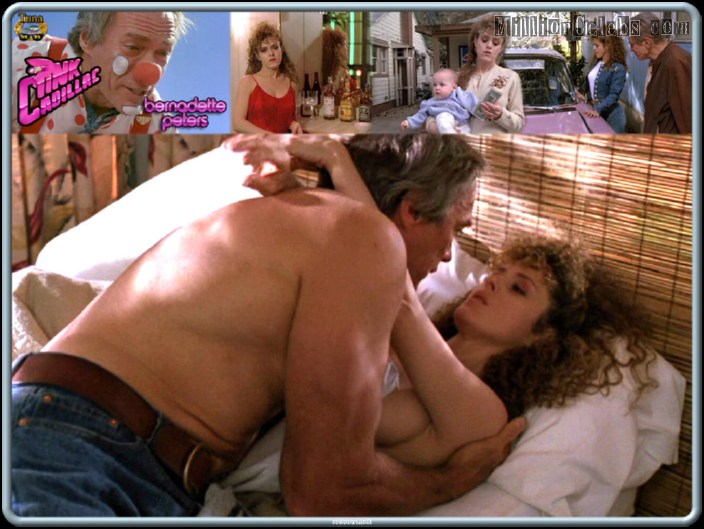 Bernadette peters topless think