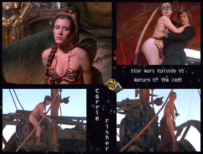 Порно фото кэрри фишер