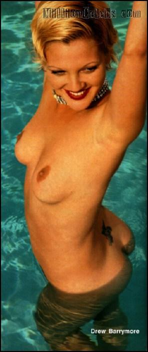 Drew Barrymore Nude Scene