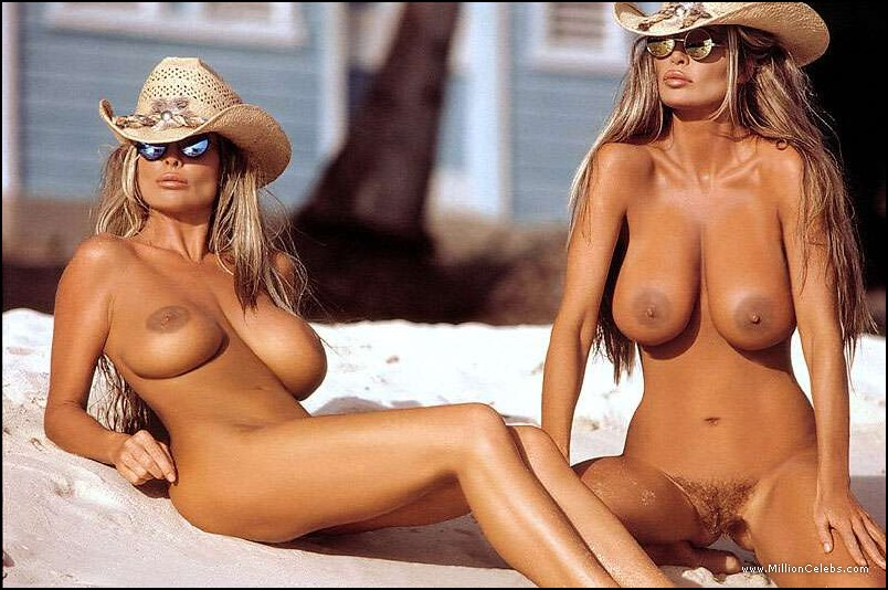 real nude famous actresses twins