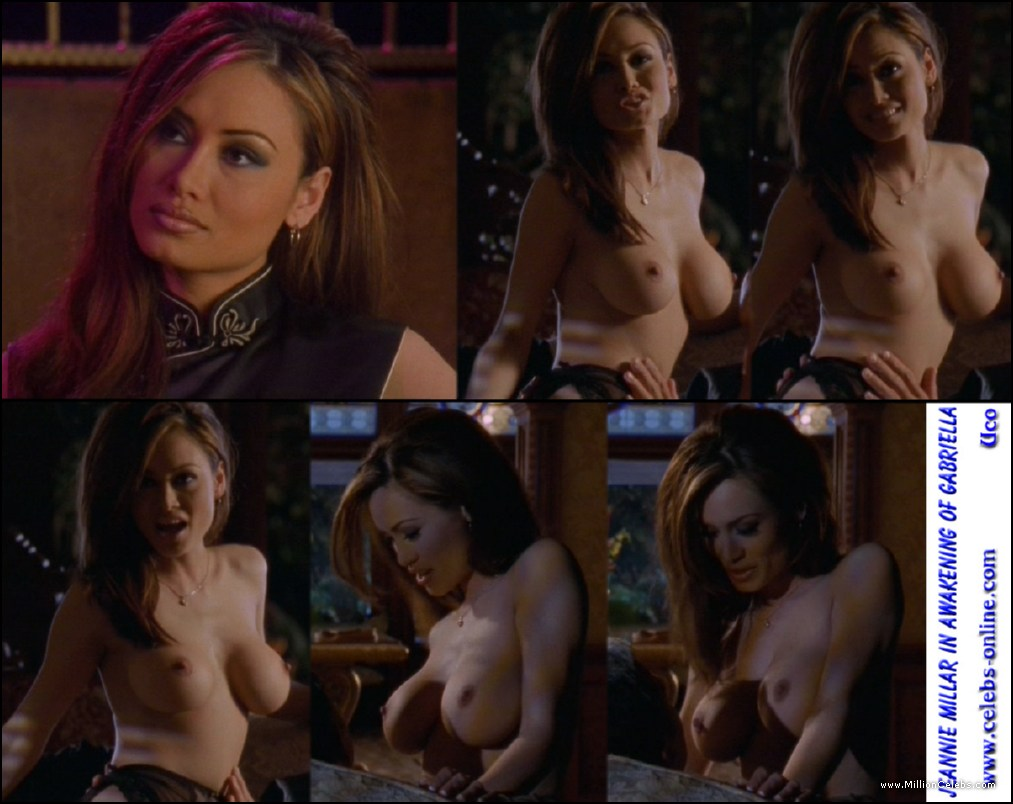 Jeannie Millar nude pictures gallery, nude and sex scenes