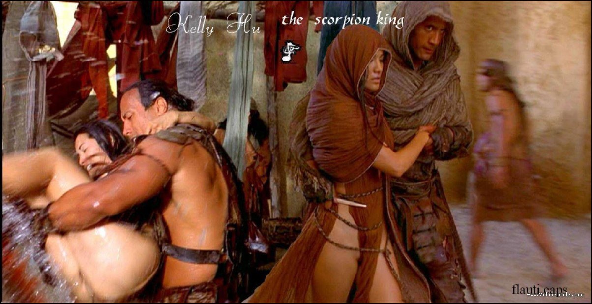 Apologise, but, The scorpion king naked advise