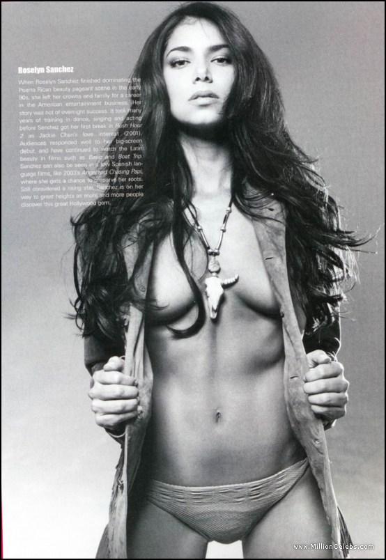 Nude photo sanchez roselyn