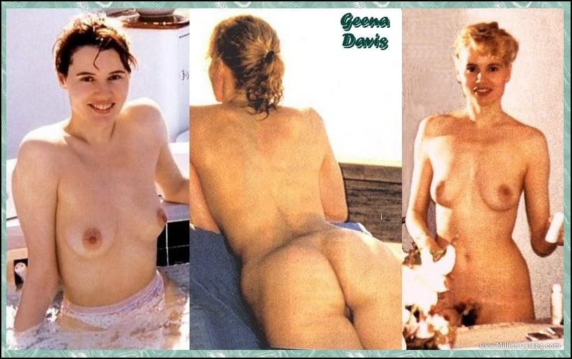 Geena Davis Sexszene
