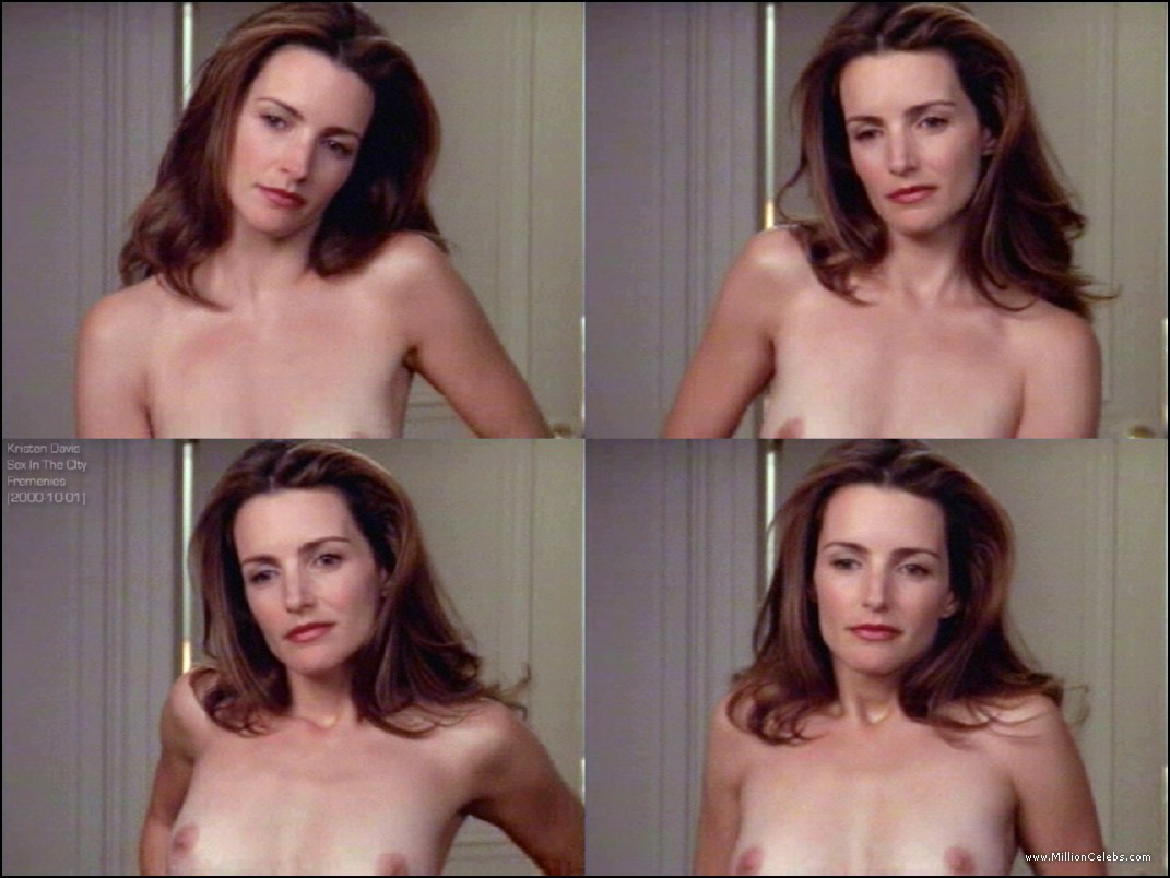 Consider, that Sex scene kristin davis amusing