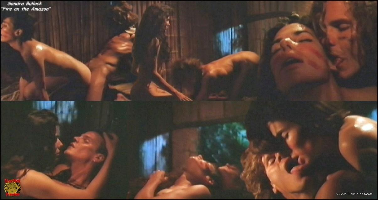 Sandra bullock nude sex scene