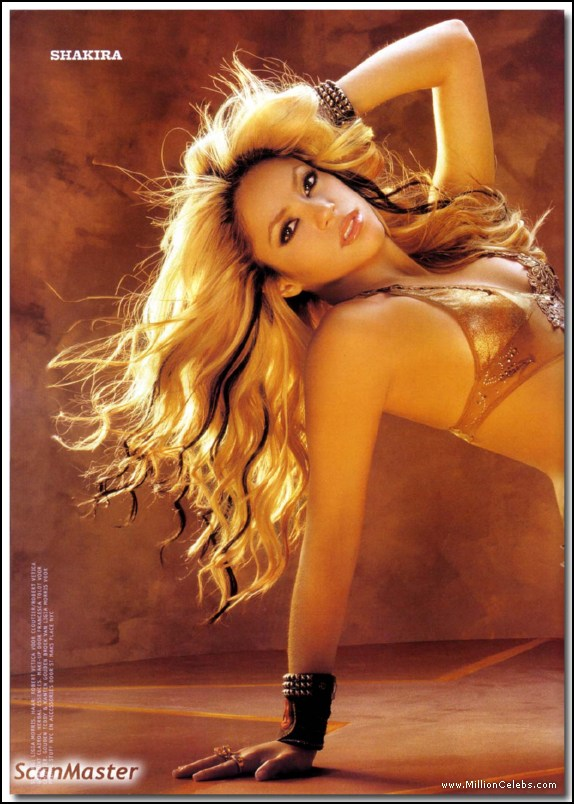 Casually found Shakira nude pictures and sex scenes opinion