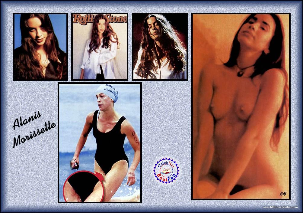 alanis morissette music video naked
