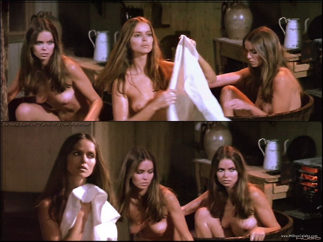 Barbara Bach nude pictures gallery, nude and sex scenes