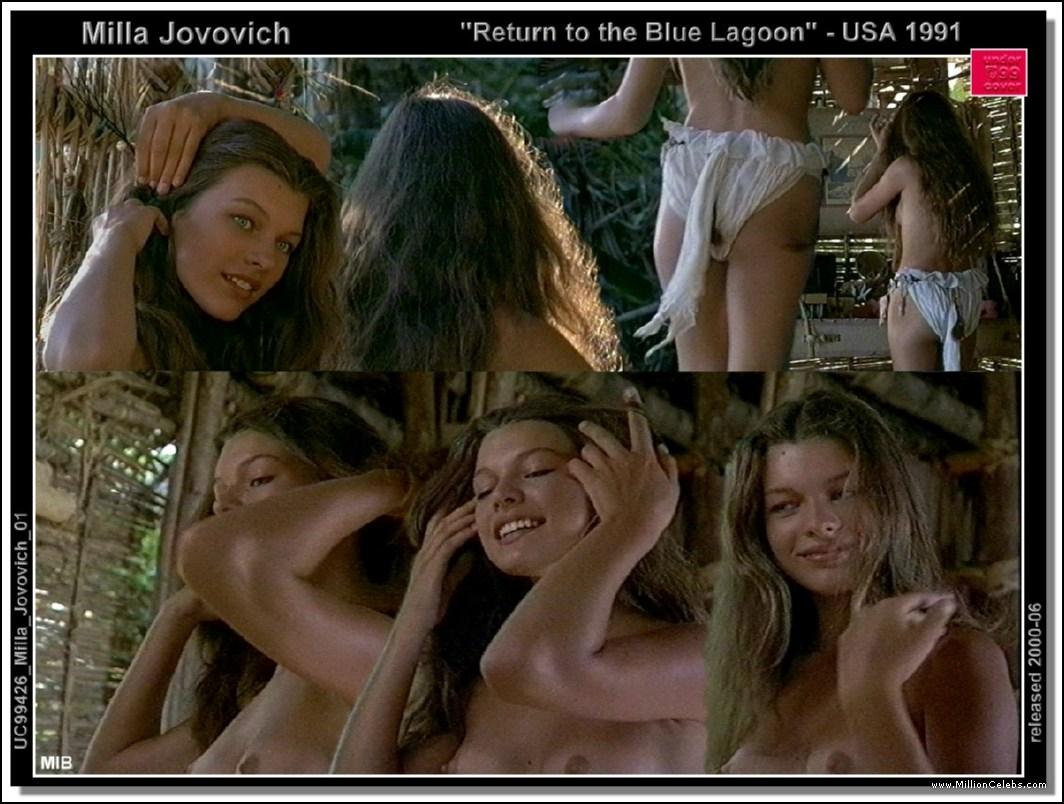 Mila jovovich nude sex scenes
