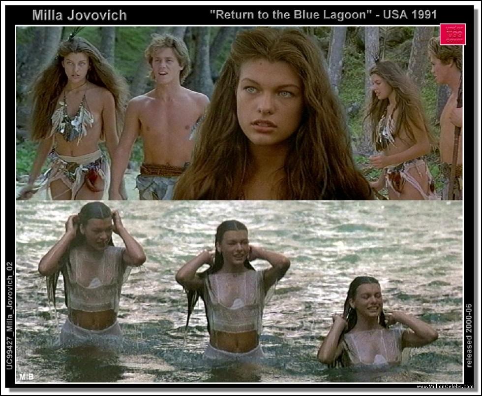 milla jovovich blue lagoon nude