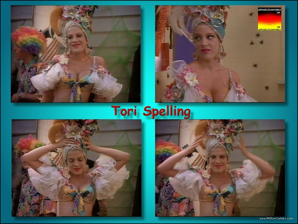Tori spelling sex scene