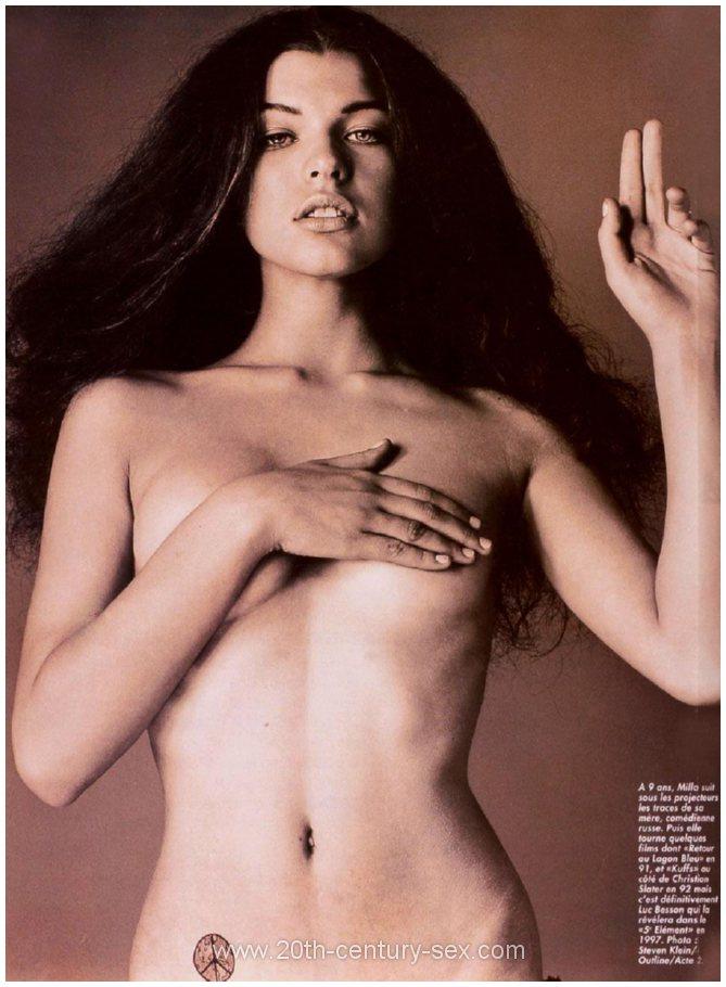Milla Jovovich Nude Pictures